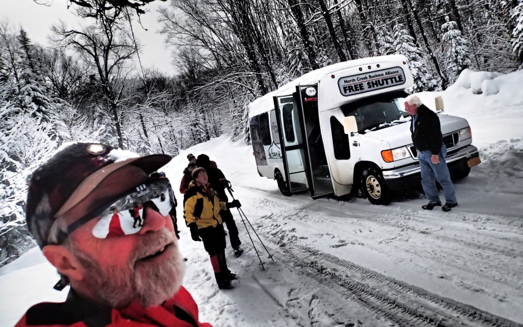 Backcountry Ski Shuttle  Dec. 28 thru Jan 1